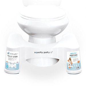 Toilettenhocker kaufen - Die Toilettenhilfe Squatty Potty Ecco – ein Toilettenhocker nach natürlichen Vorbild